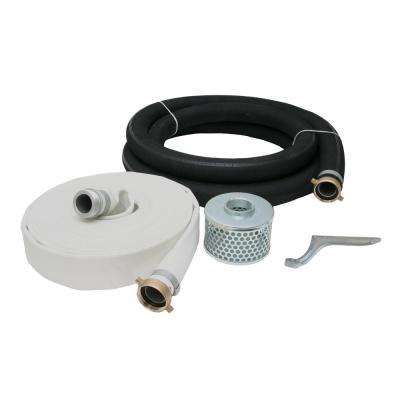 2 in. High Pressure Water Pump Hose Kit