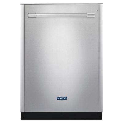 24 in. Top Control Dishwasher in Fingerprint Resistant Stainless Steel with PowerDry Option