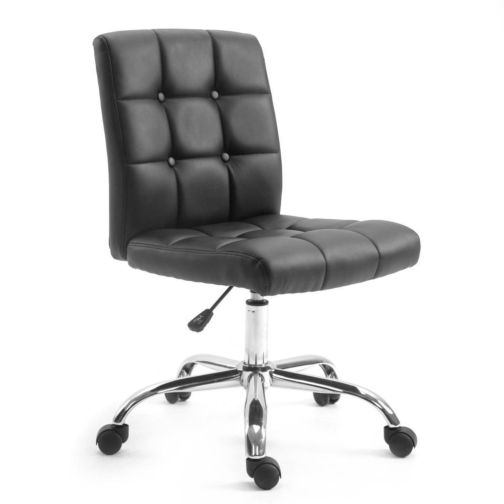 Aria Task Chair in Black