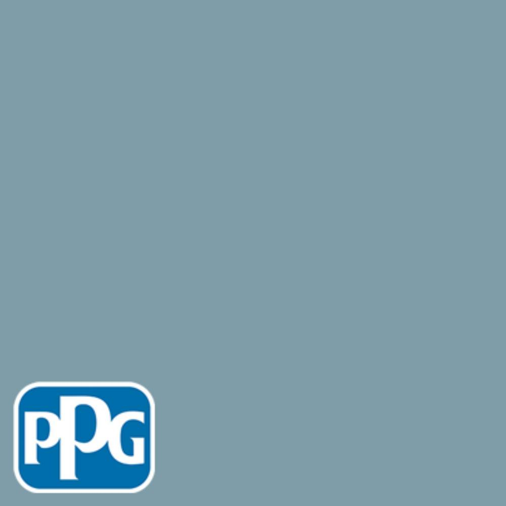 1 gal. #HDPPGB51U Harpers Blue Flat Exterior One-Coat Paint with Primer