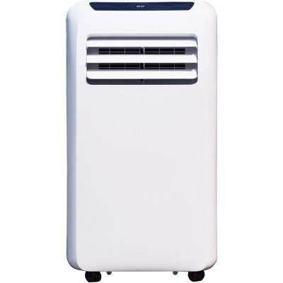 12,000 BTU Portable Air Conditioner Cooling /Dehumidifying with Remote Control in White