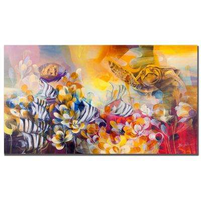 18 in. x 32 in. Key Largo Canvas Art