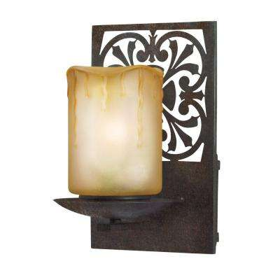 Adelaide Collection Bronze Outdoor Wall-Mount Sconce