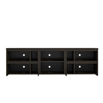 Savona 71 in. Espresso Particle Board TV Stand Fits TVs Up to 70 in. with Cable Management