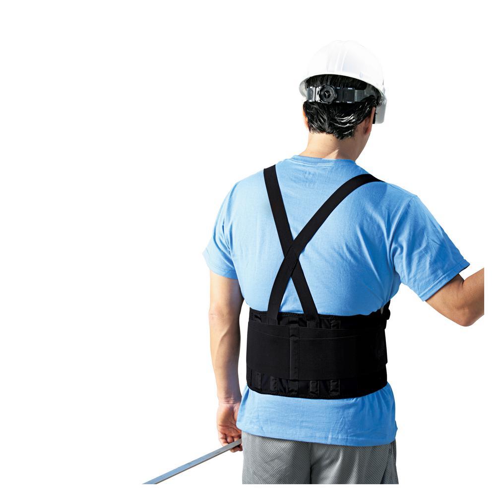 1 Size Black Adjustable Work Belt (Case of 12)