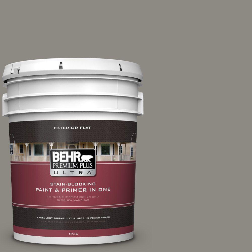 BEHR Premium Plus Ultra 5-gal. #bxc-55 Concrete Sidewalk ...