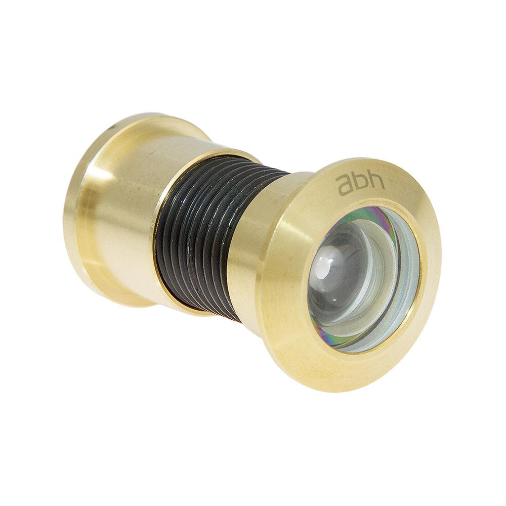 180° Bright Brass Jumbo Door Viewer with Glass Lenses