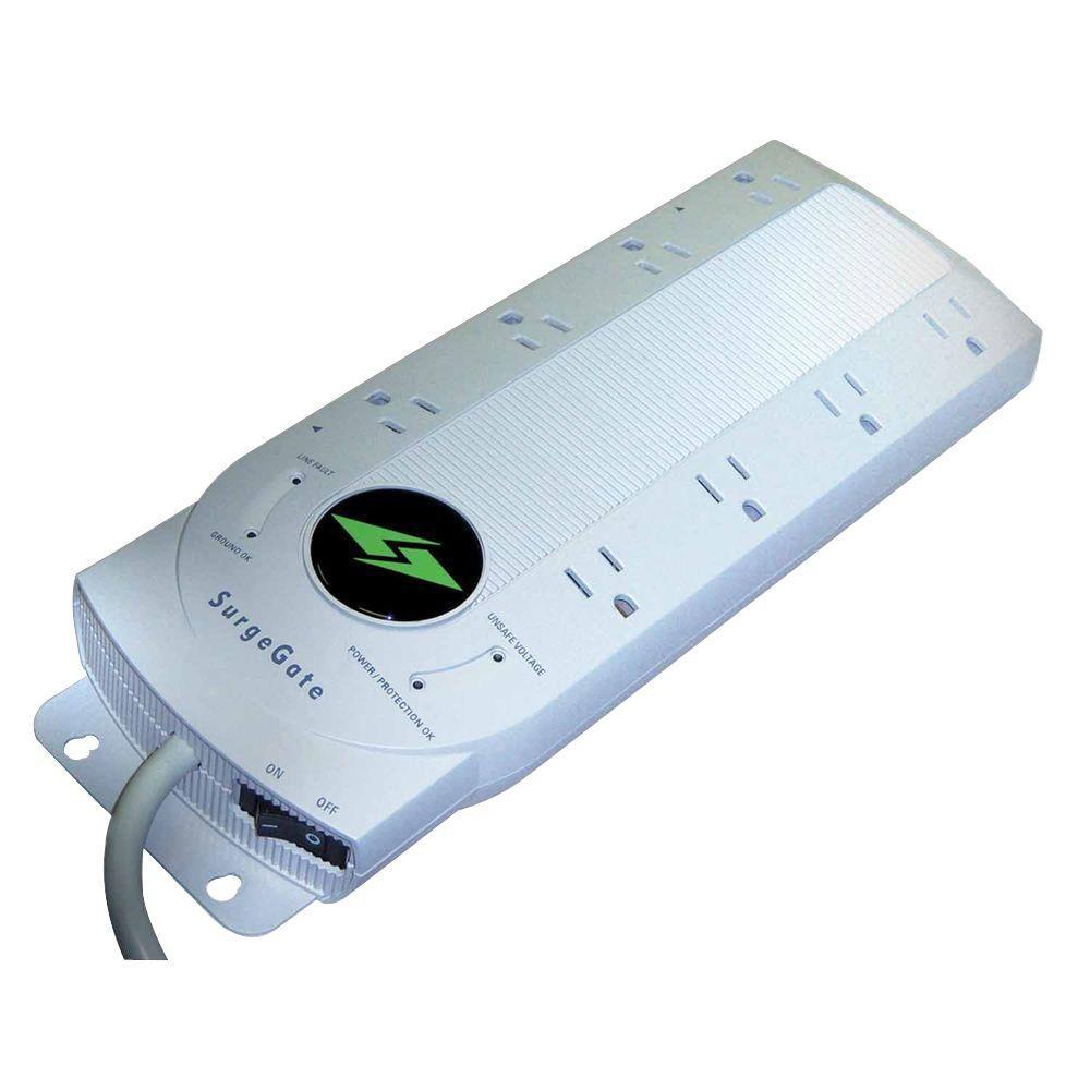 SurgeGate 8 Outlet AC Surge Protector