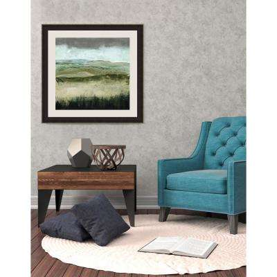 26.5 in. x 26.5 in. 'Crystal Moorland I' by Grace Popp Fine Art Paper Print Framed with Glass Wall Art