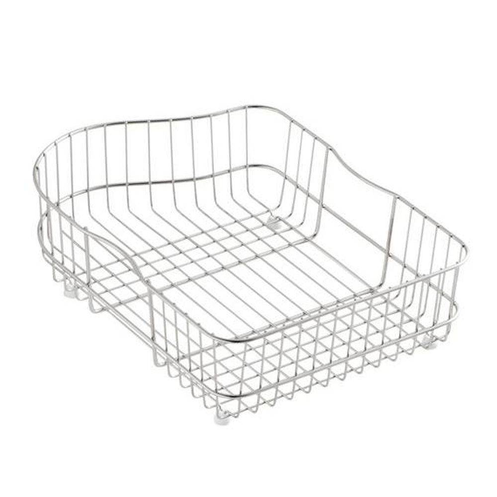 Hartland Wire Rinse Basket Left Hand Basin Sinks Stainless