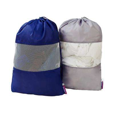 Sanitized Laundry Bag with Mesh Window (2-Pack)