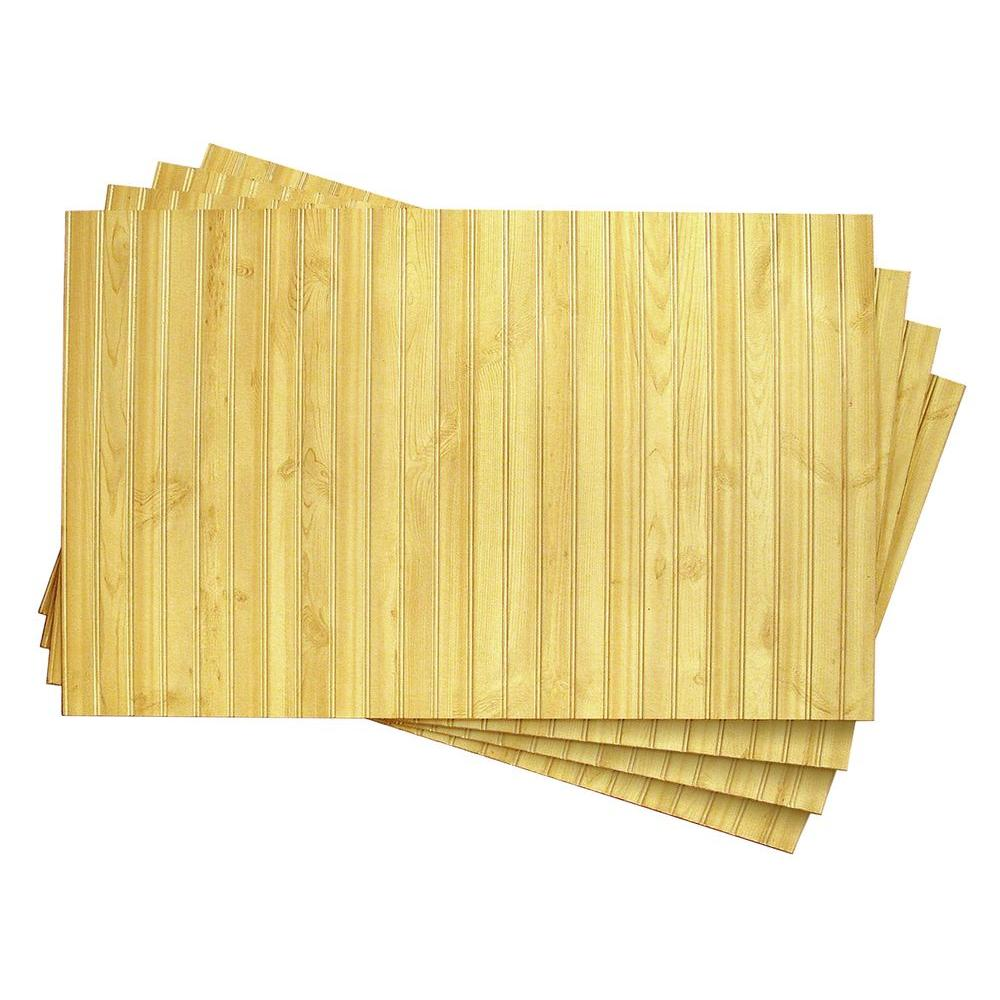 1/4 in. x 32 in. x 48 in. DPI Goldendale Wainscot Panel (4-Pack ...