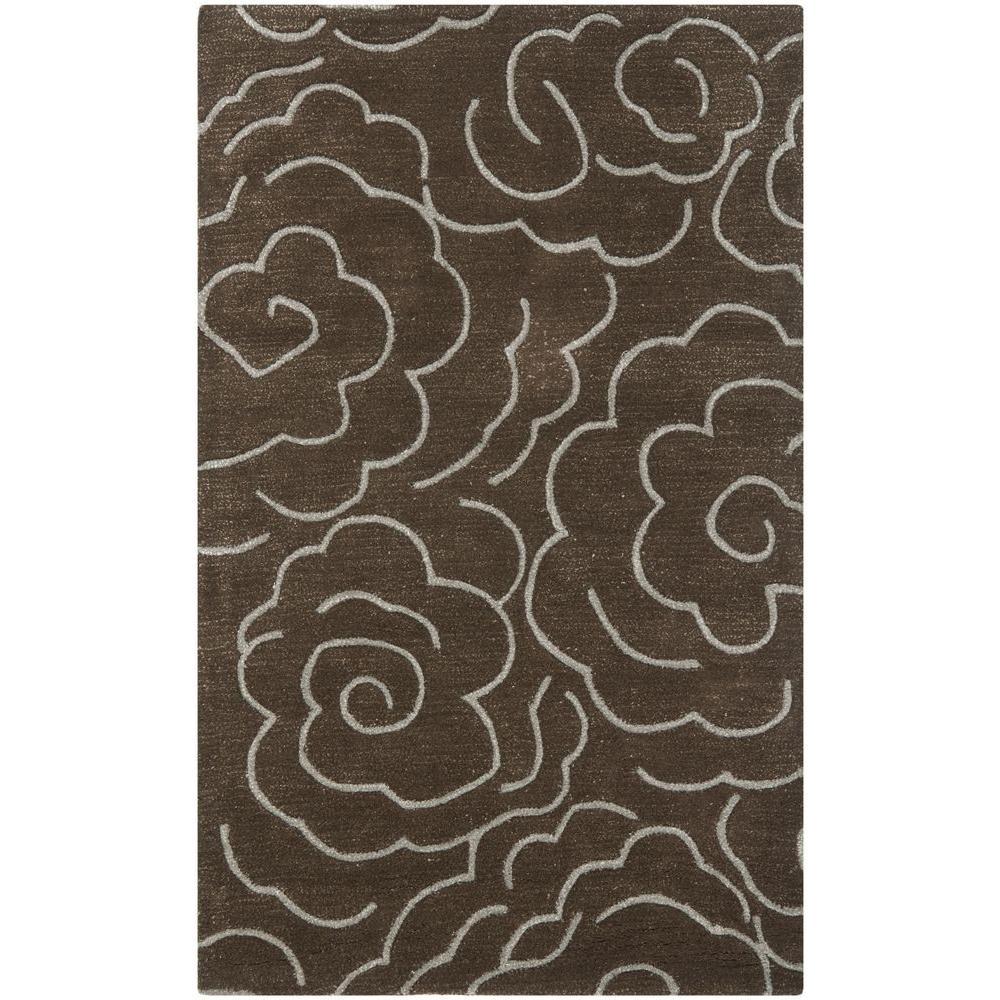 Safavieh Soho Chocolate/Ivory 3 ft. x 5 ft. Area Rug