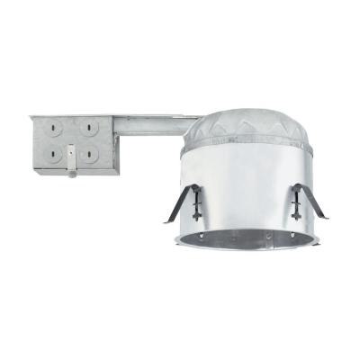 6 in. IC-Rated Airtight Shallow Remodel Recessed Housing