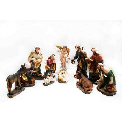 13 in. H Nativity Set (11-Piece)