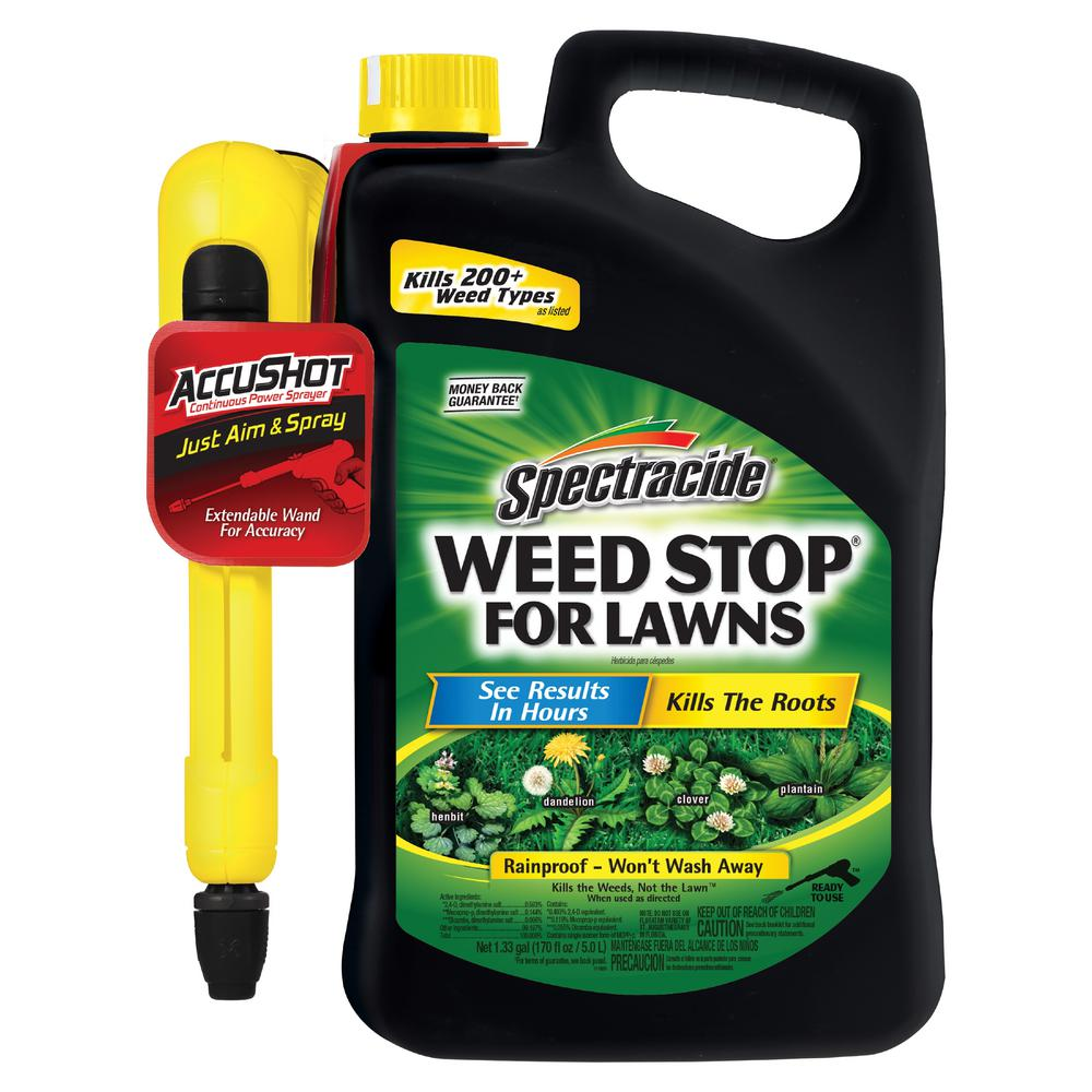 Spectracide Weed Stop 1.3 gal. Ready-to-Use Accushot