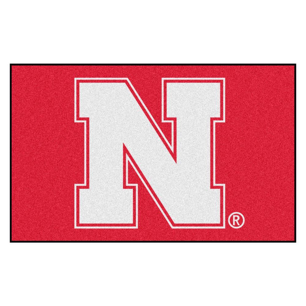 University of Nebraska 5 ft. x 8 ft. Ulti-Mat