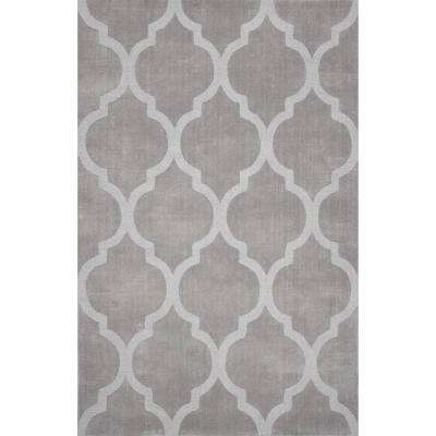 Maybell Grey 9 ft. x 12 ft. Area Rug