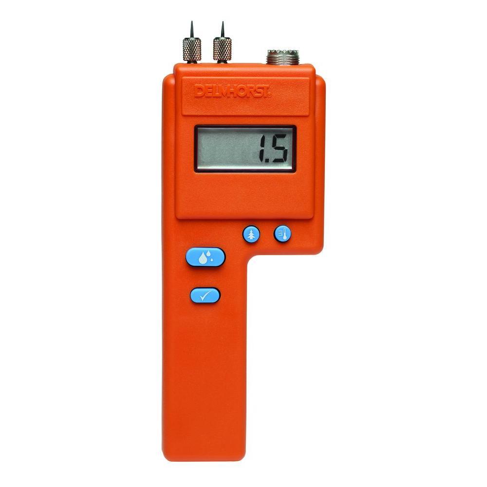 Digital Moisture Meter : Delmhorst pin type digital moisture meter j the