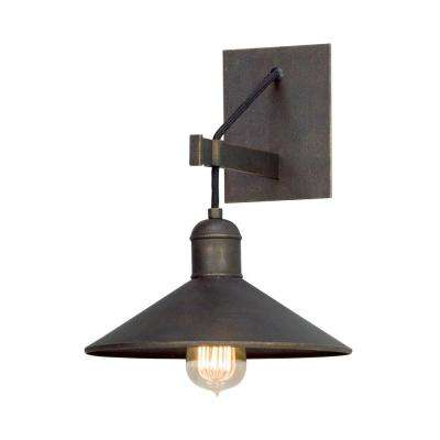 McCoy Vintage Bronze Wall Mount Sconce