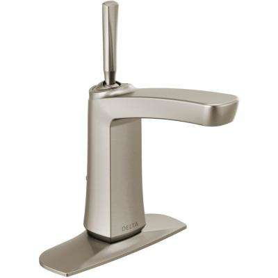 Vesna 4 in. Centerset Single-Handle Bathroom Faucet in SpotShield Brushed Nickel