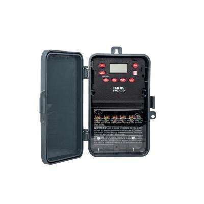 30 Amp Astronomic 7-Day Digital Indoor/Outdoor Industrial Timer Switch with 1-Channel