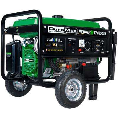 4,850/3,850-Watt Dual Fuel Powered Electric Start Portable Generator