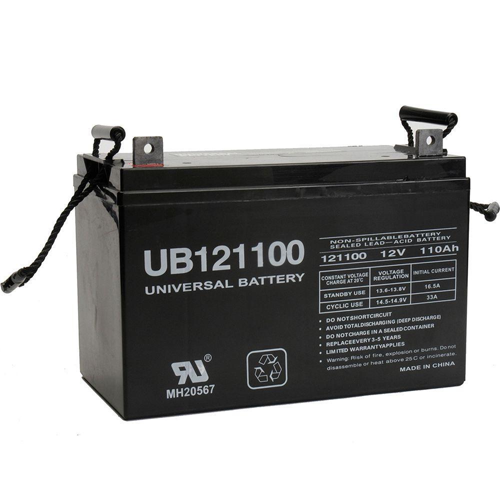 upg sla 12 volt l3 terminal agm battery ub121100 group. Black Bedroom Furniture Sets. Home Design Ideas