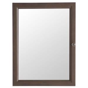 Glacier Bay Delridge 22-13/100 inch W x 29-1/2 inch H Framed Surface-Mount Bathroom Medicine Cabinet in Flagstone by Glacier Bay