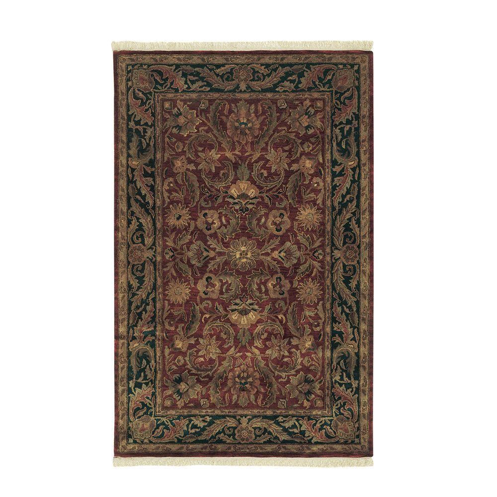 Home Decorators Collection Chantilly Red 2 ft. x 3 ft. Area Rug
