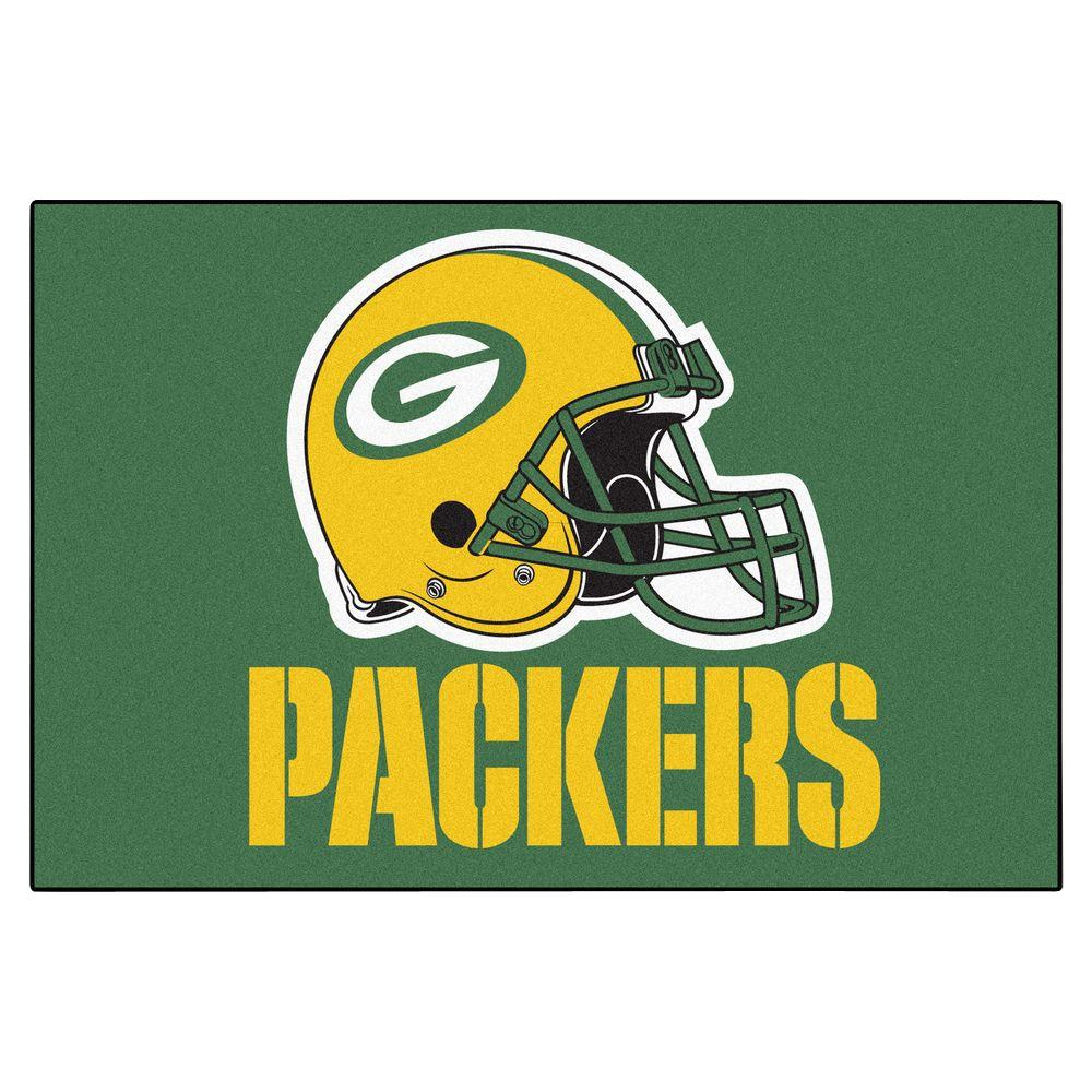 Green Bay Packers 19 in. x 30 in. Accent Rug