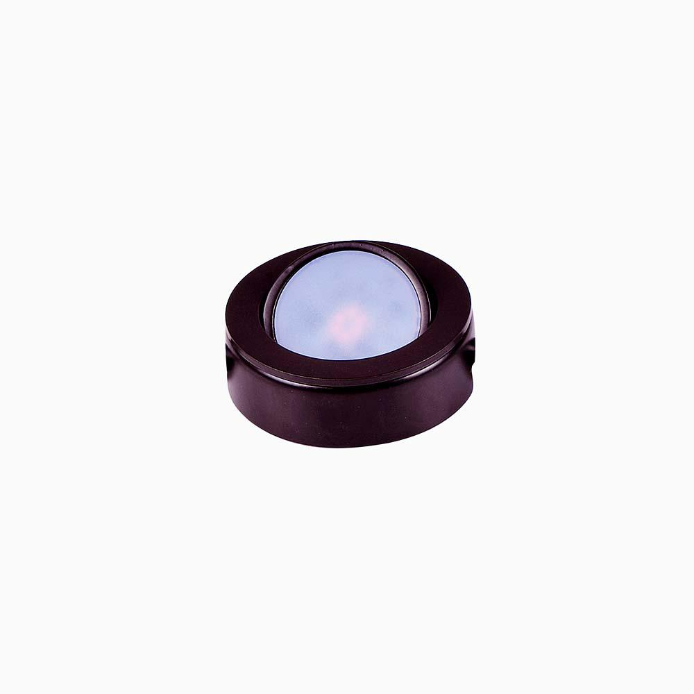 Wide Led Anodized Bronze Under Cabinet Puck Light