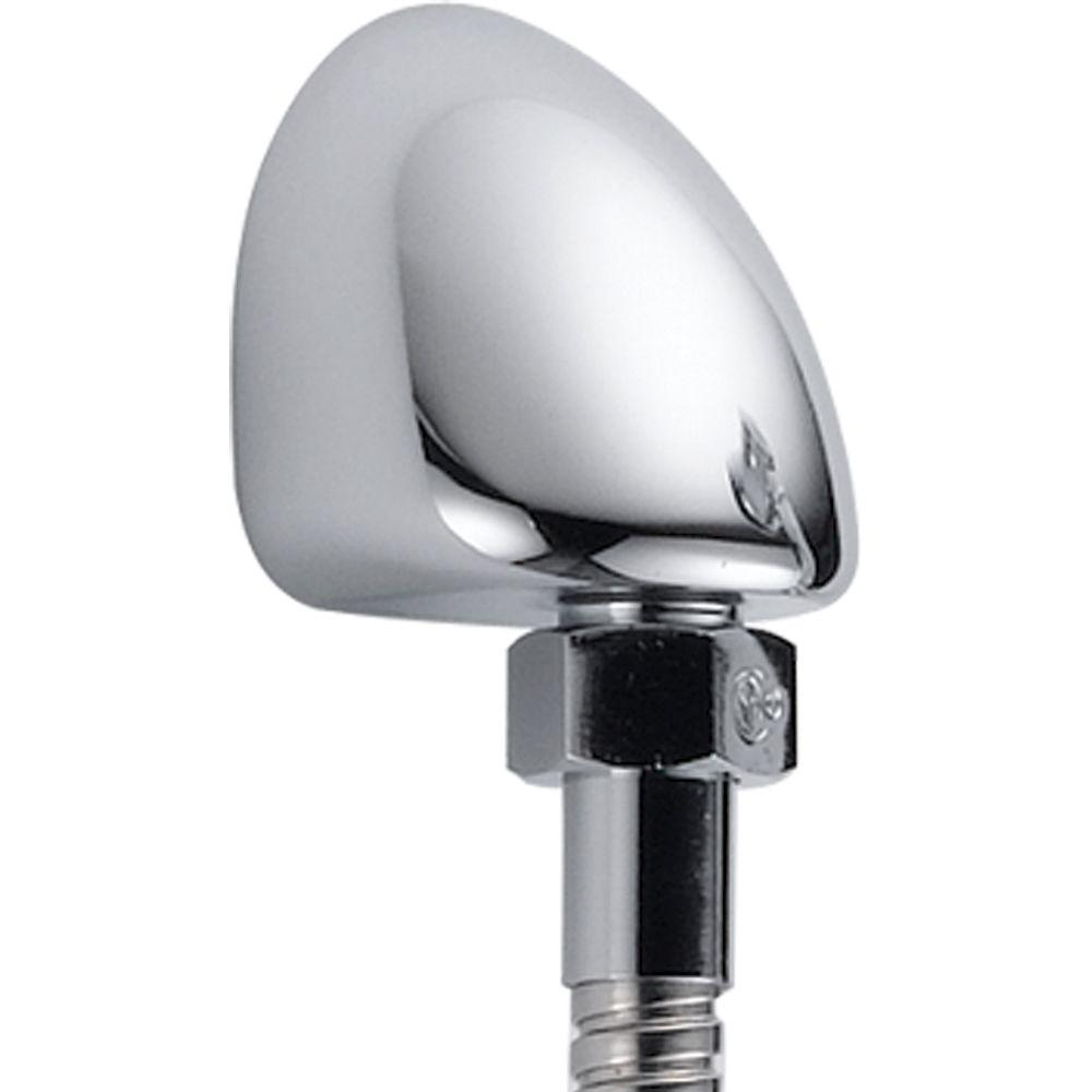 Delta Hand Shower Wall Elbow In Chrome For Wall Mount Hand Showers