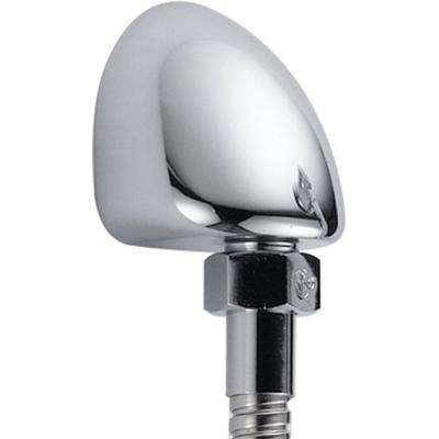 Hand Shower Wall Elbow in Chrome for Wall-Mount Hand Showers