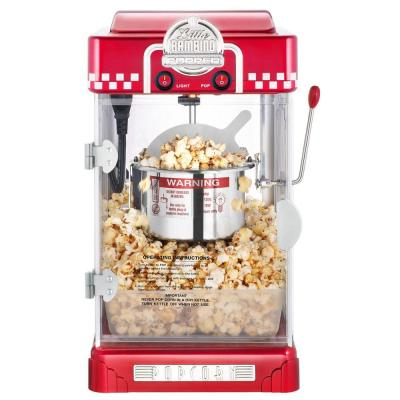 Little Bambino 2.5 oz. Red Countertop Popcorn Machine