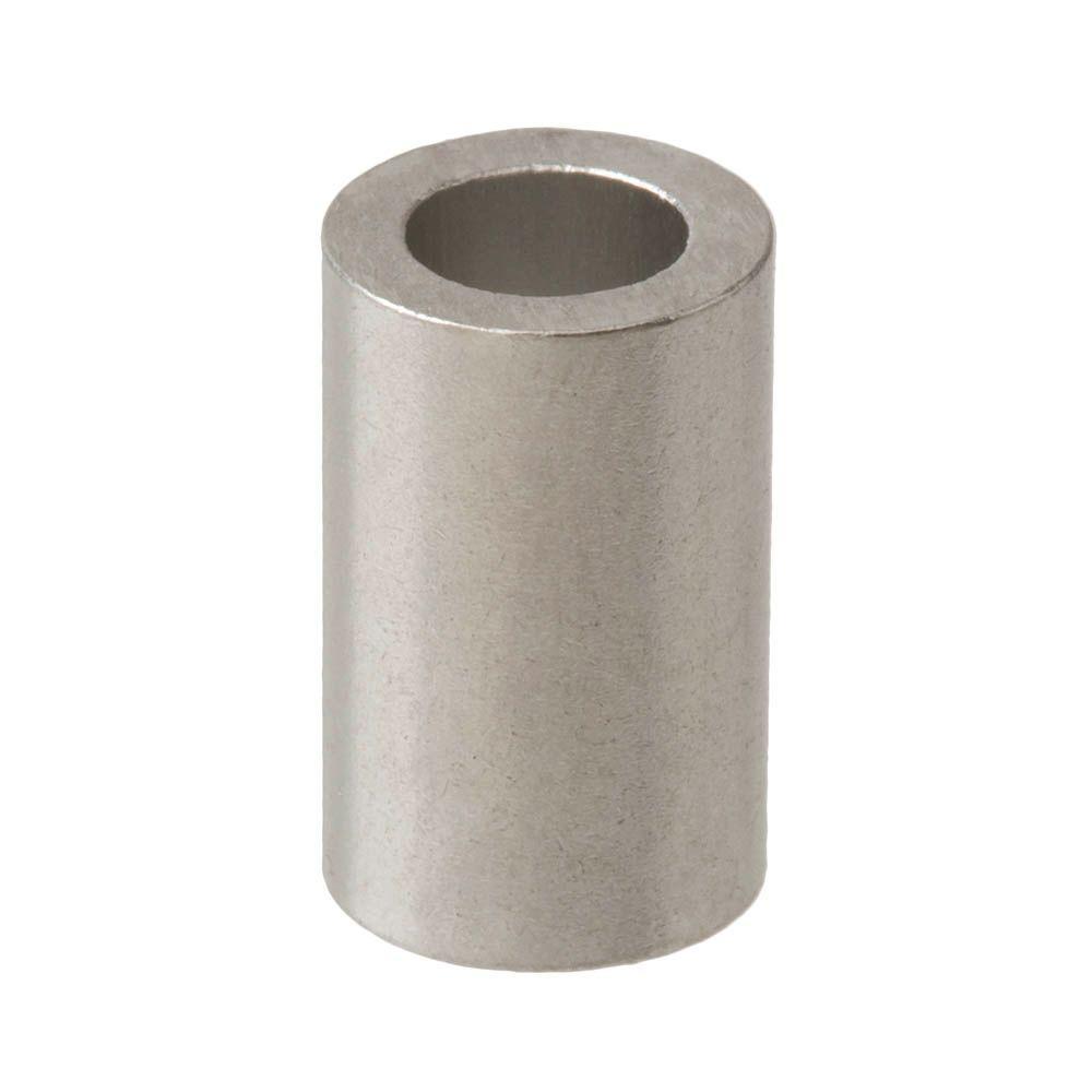#8 x 1/4 in. x 1/2 in. Aluminum Spacer