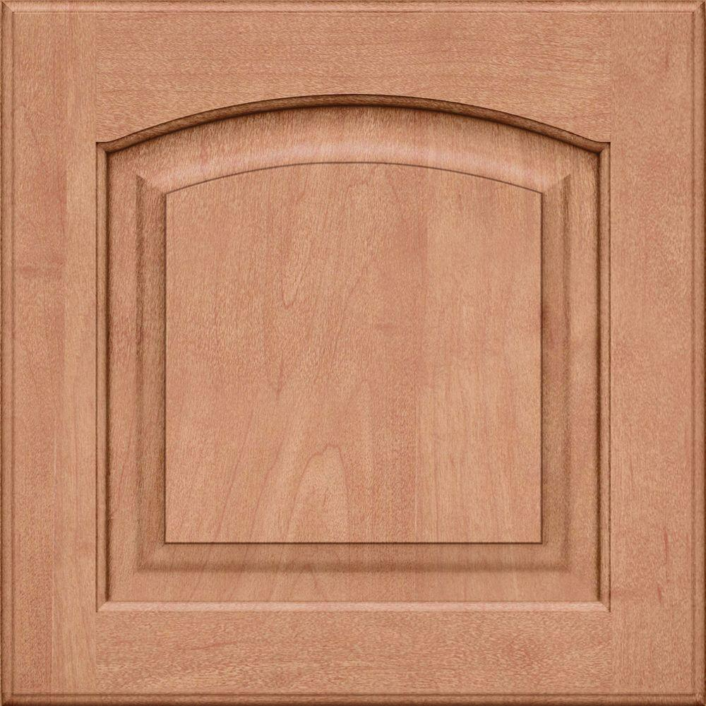 KraftMaid 15x15 In. Cabinet Door Sample In Piermont Maple