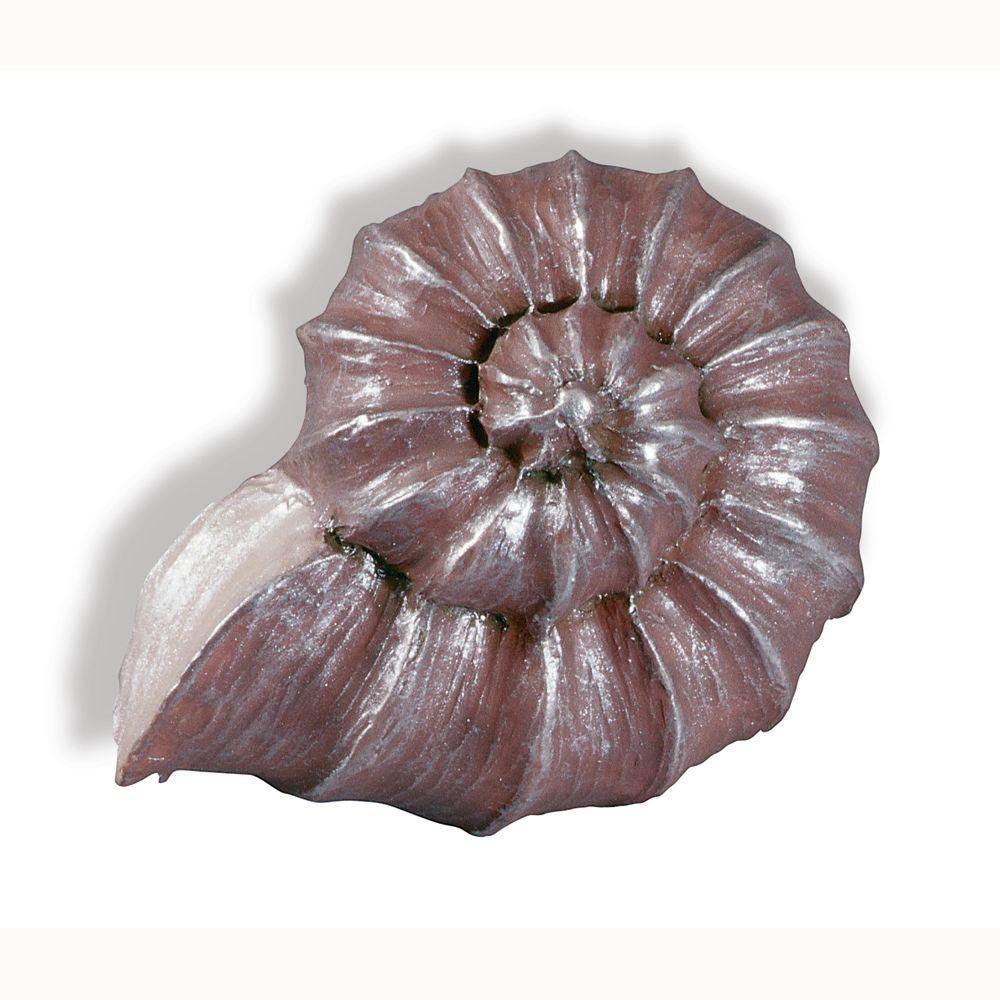 Caribe 1-15/16 in. Lavender Nautilus Cabinet Knob