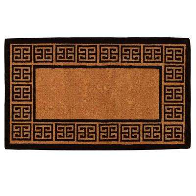 Grecian 36 in. x 72 in. Door Mat
