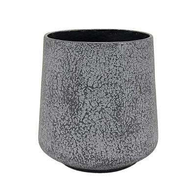 11.5 in. x 11.5 in. Planter Small in Gray