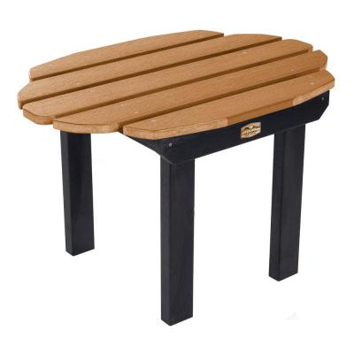 Essential Caribou Rectangular Recycled Plastic Outdoor Side Table
