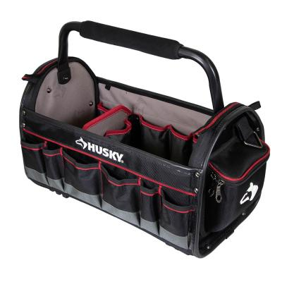 20 in. Pro Tool Tote with Removable Tool Wall