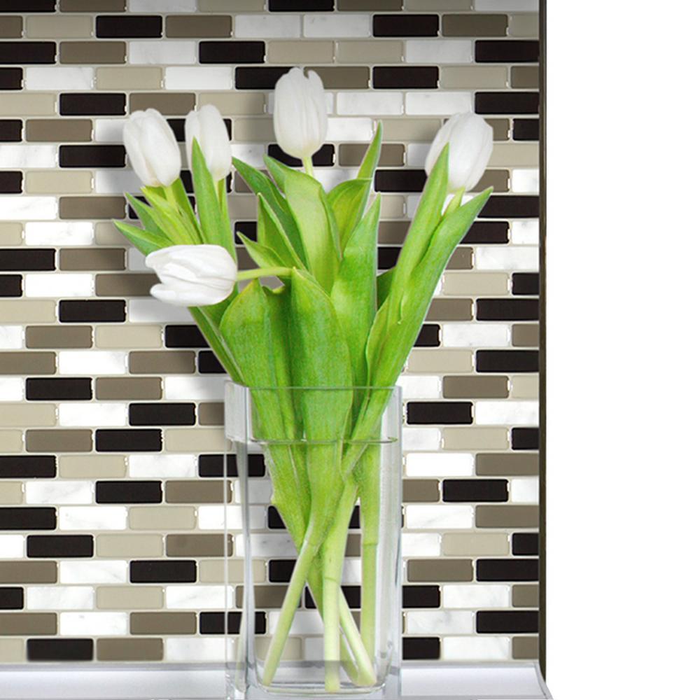 18 in. x 0.27 in. Decorative Smart Edge in Ambra (4-Pack)