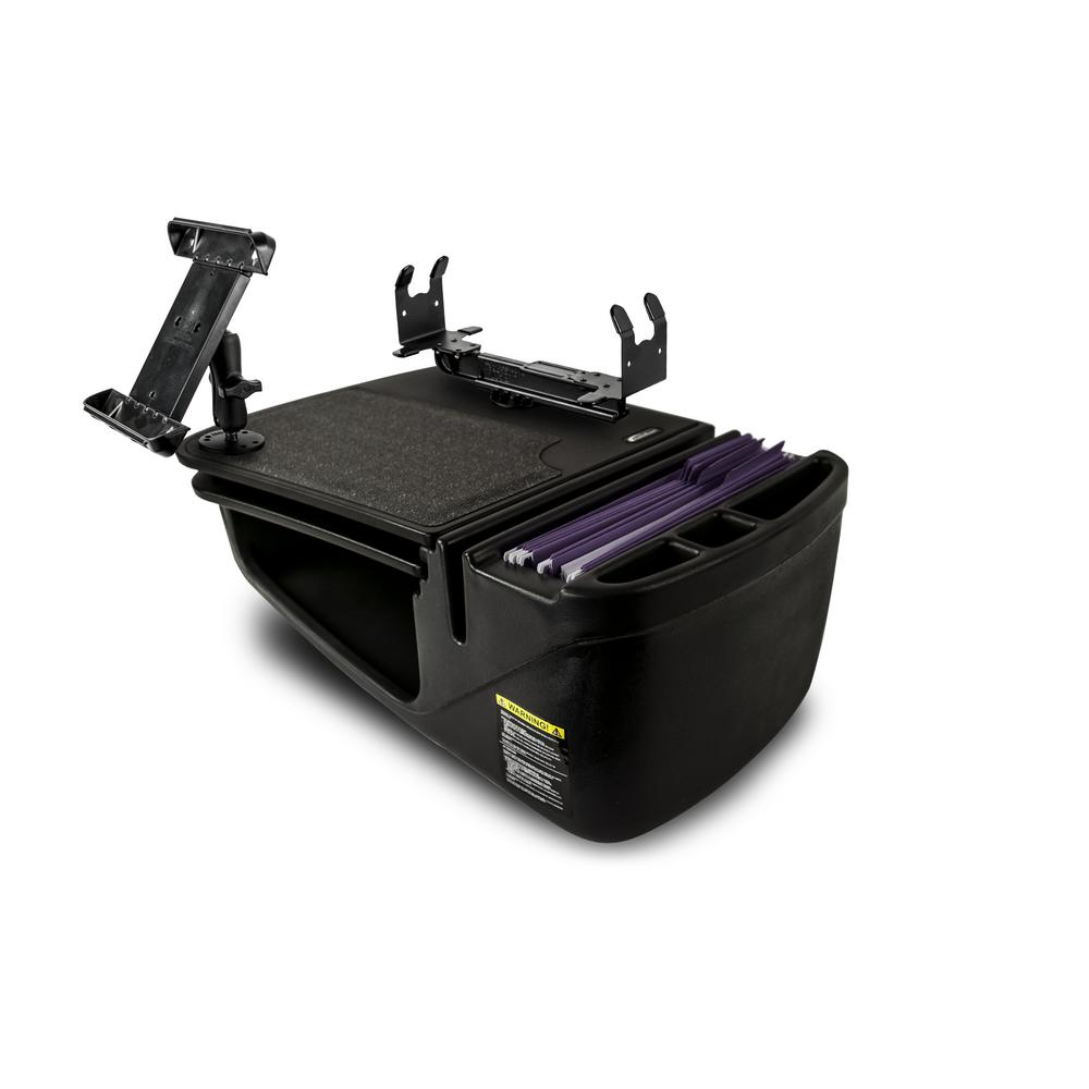 Gripmaster with Built-In Power Inverter Tablet Mount and Printer Stand Black