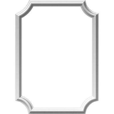 20 in. W x 28 in. H x 1/2 in. P Ashford Molded Scalloped Wainscot Wall Panel