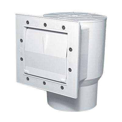 9 in. Short Throat Above Ground FAS Standard Thru-Wall Skimmer