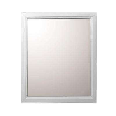 Irwindale 24 in. W x 30 in. L Wood Surface-Mount Mirrored Medicine Cabinet in White