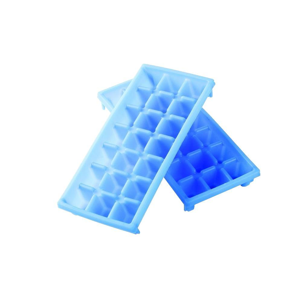 Camco Mini Ice Cube Tray 2 Pack 44100 The Home Depot