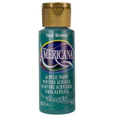 Americana 2 oz. Teal Green Acrylic Paint