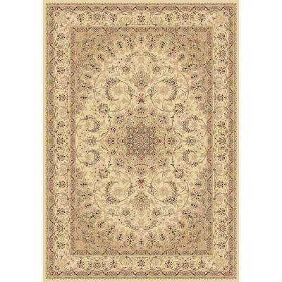 Legacy Ivory 7 ft. x 10 ft. Indoor Area Rug